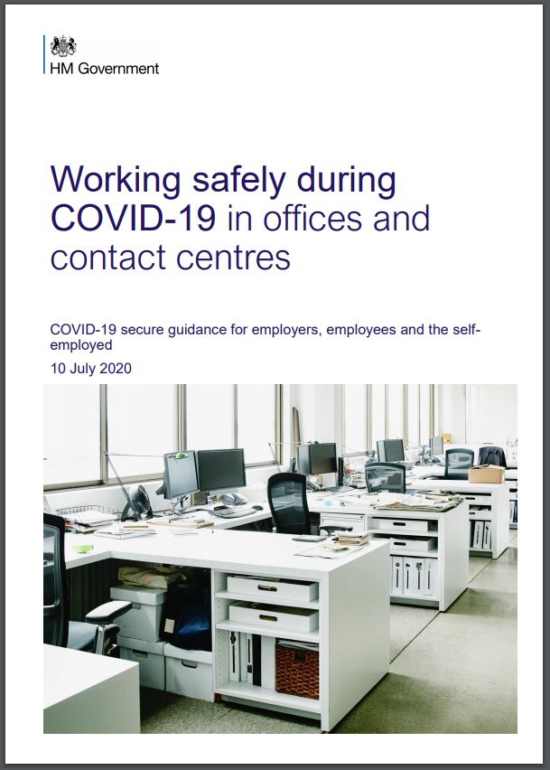 Working Safely during COVID-19 in offices and contact centres